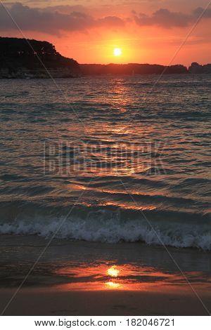 Bulgarian Sea Sunset