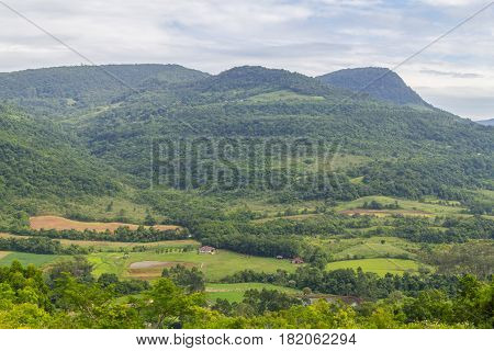 Farm Morro Do Gaucho Mountain Landscape