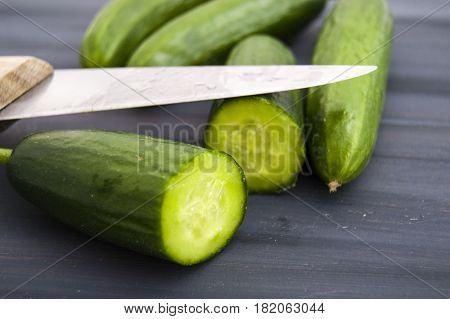 Cucumber, organic natural sailor cucumber pictures, cutting a cucumber with a knife, cucumber pictures on different topics