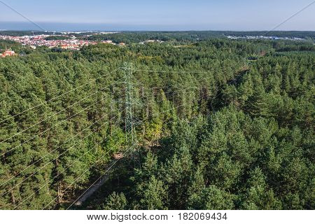 Donas hill on Gdynia city in Poland