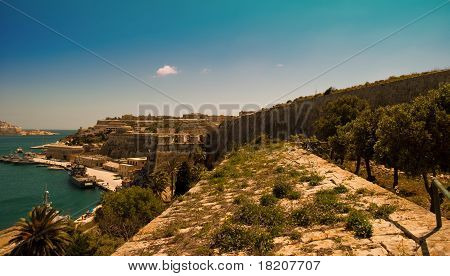 Maltese Grand Harbour Bastions