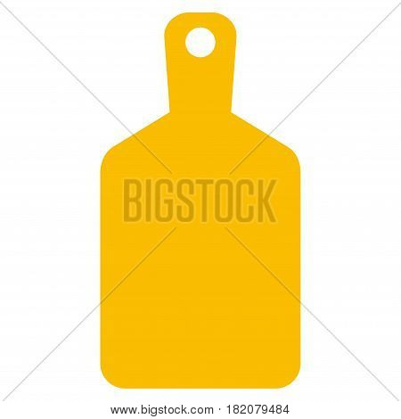 Cutting Board vector icon. a flat isolated illustration on a white background.