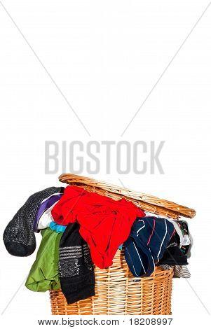 Full Laundry Basket V2