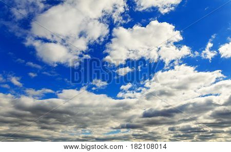 The vast blue sky and clouds sky sky clouds