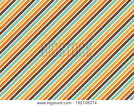Abstract color background vintage style oblique line vector