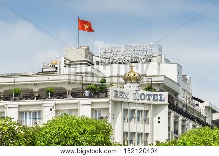 Facade Of The Rex Hotel, Ho Chi Minh City, Vietnam