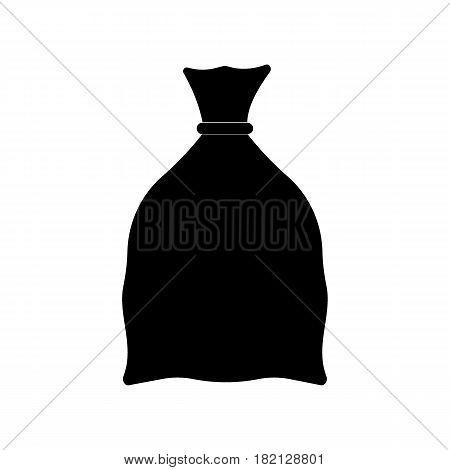 Money bag icon illustration isolated sign symbol. Money bag vector logo.