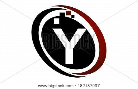 This vector describe about Technology Logo Motion Synergy Initial Y