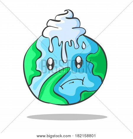 Vector Environmental Doodles with world collection stock