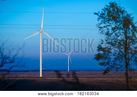 Two Wind Farms