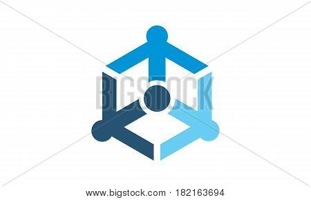 Online Marketing Business Distribution Technology  Logo Arrow