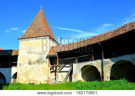 Fortified medieval church in Vineyard Valley, Transylvania Valea Viilor fortified church is a Lutheran fortified church in Valea Viilor (Wurmloch), Sibiu County, in the Transylvania region of Romania. It was built by the ethnic German Transylvanian Saxon
