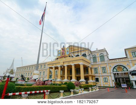 Ministry Of Defence Building In Bangkok, Thailand