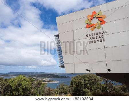 MARCH 28, 2017 - ALBANY, WESTERN AUSTRALIA: National ANZAC Centre in Albany, Western Australia