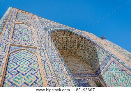 Ulugh Beg Madrasah, Registan, Samarkand