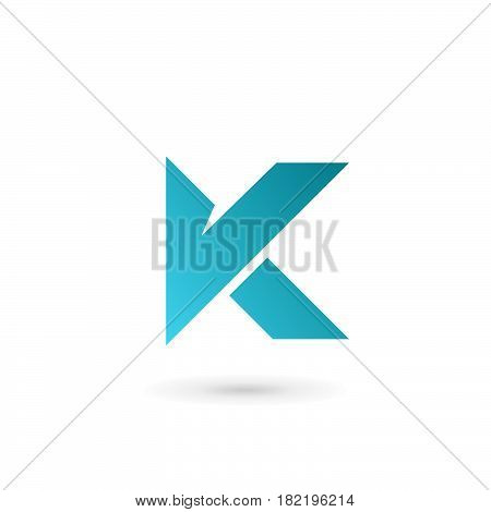 Letter K Logo Icon Design Template Elements