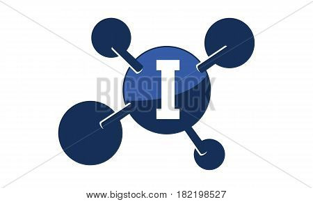 Synergy Logo connection Together Science Initial I