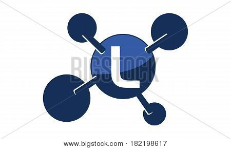 Synergy Logo connection Together Science Initial L