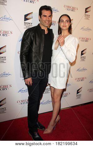 LOS ANGELES - APR 13:  Jordi Vilasuso, Bailee Madison at the