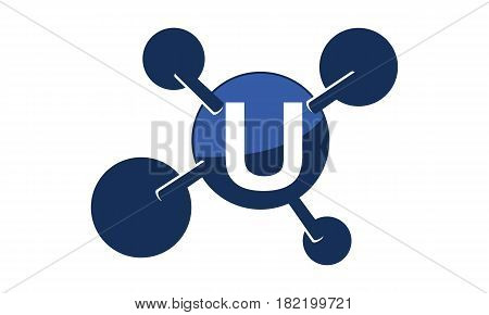 Synergy Logo Solution Group Connection Initial U