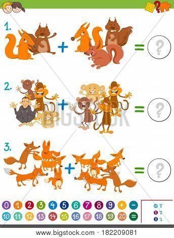 Addition Maths Game For Kids