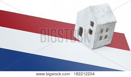 Small House On A Flag - Netherlands