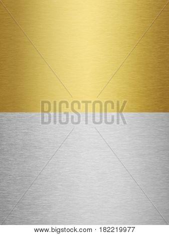 steel and brass metal textures