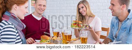 Lunch At Loft