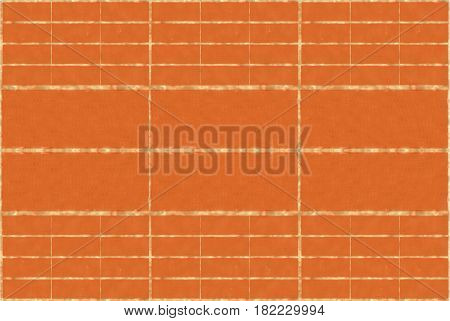 Background textured wall of red brick seamless endless