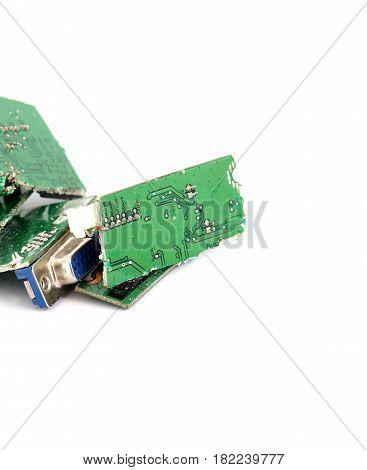 Damaged Video Card