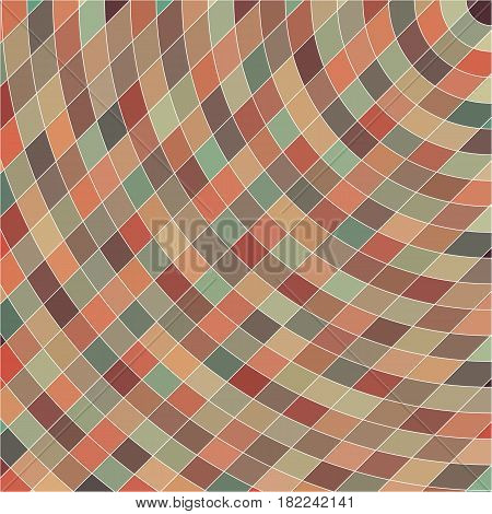 Abstract background, geometric design, vector illustration. Geometric tesselation of colored surface. Stained-glass window style. Abstract color blur.