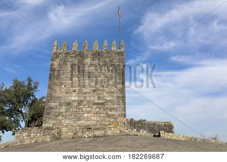 Castle of Povoa de Lanhoso, north of Portugal