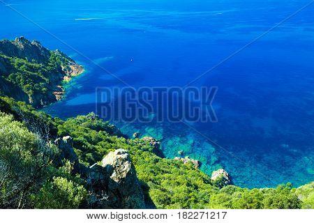 Stunning Corsica Coastline