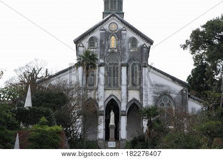 Oura Church In Nagasaki, Japan