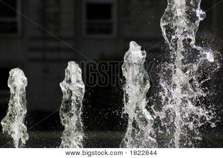 Water Sculptures