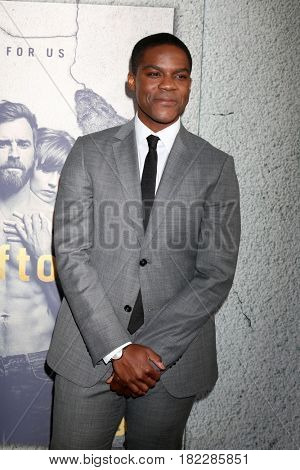 LOS ANGELES - APR 4:  Jovan Adepo at the Premiere Of HBO's
