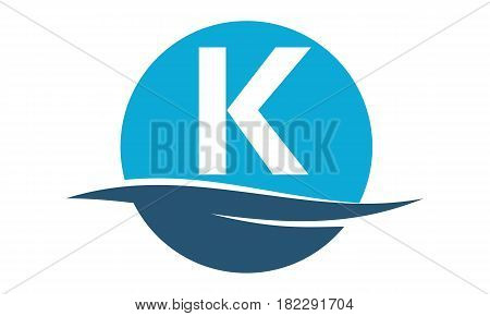 Wave water Beach Pool Service Initial K