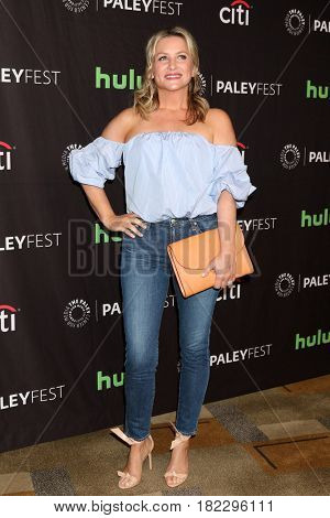 LOS ANGELES - MAR 19:  Jessica Capshaw at the 34th Annual PaleyFest Los Angeles -