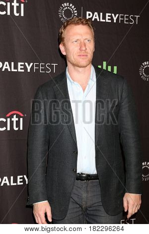 LOS ANGELES - MAR 19:  Kevin McKidd at the 34th Annual PaleyFest Los Angeles -