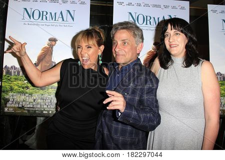 LOS ANGELES - APR 5: Miranda Bailey, Eyal Rimmon, Amanda Marshall at the premiere of Sony Pictures Classics' 'Norman' at Linwood Dunn Theater on April 5, 2017 in Los Angeles, CA