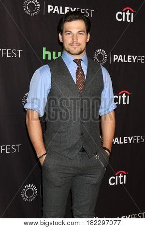 LOS ANGELES - MAR 19:  Giacomo Gianniotti at the 34th Annual PaleyFest Los Angeles -