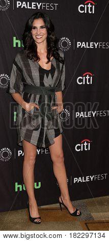 LOS ANGELES - MAR 21:  Daniela Ruah at the 34th Annual PaleyFest Los Angeles -