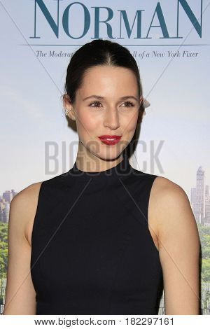 LOS ANGELES - APR 5: Alona Tal at the premiere of Sony Pictures Classics' 'Norman' at Linwood Dunn Theater at the Pickford Center for Motion Study on April 5, 2017 in Los Angeles, CA