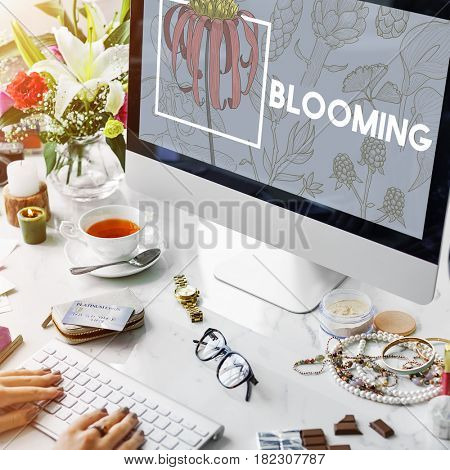 Blooming Floral Arts and Crafts Nature