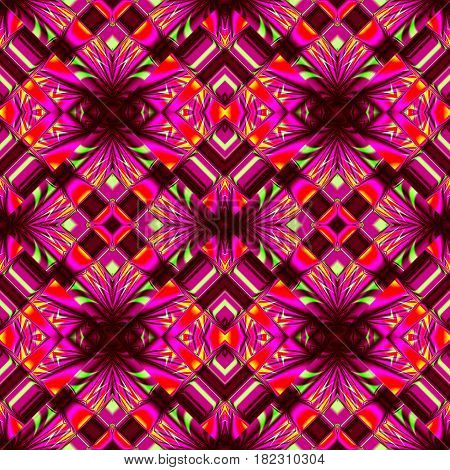 stylized magical purple seamless pattern with classic stripes and wrinkles in the form of lozenges for fabrics and tablecloths