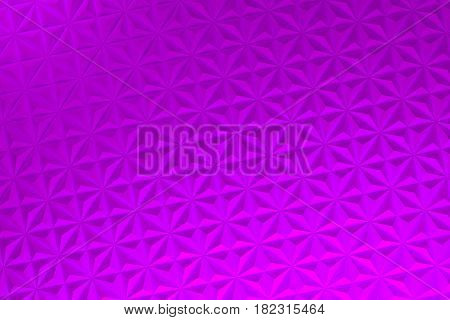 Pattern Of Violet Pyramid Shapes