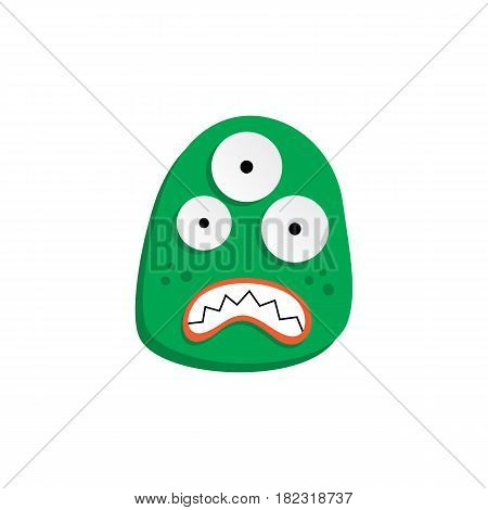 Cute Adorable Ugly Scarry Funny Mascot Monster