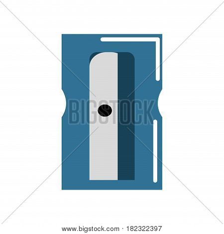 sharpener study tool to do homework, vector illustration