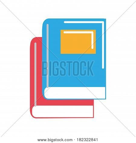 books tool study to learn things, vector illustration