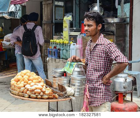 Street In Amritsar, India